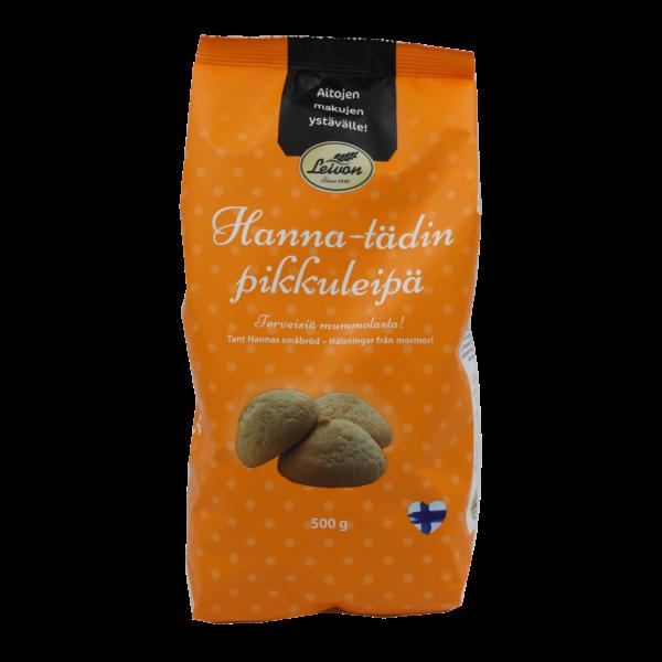 Leivon Hanna-tädin pikkuleipä pussi